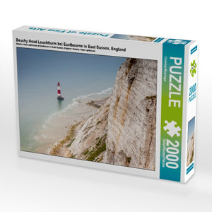 Beachy Head Leuchtturm bei Eastbourne in East Sussex, England 20