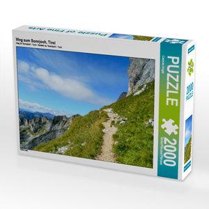 CALVENDO Puzzle Weg zum Sonnjoch, Tirol 2000 Teile Lege-Größe 90