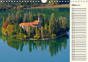 Sibenik und die Krka - Unterwegs in Mitteldalmatien (Wandkalende