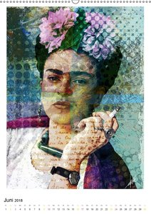 FRIDA KAHLO in memory of a great artist