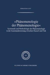 Phänomenologie der Phänomenologie