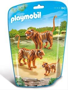 2 Tiger mit Baby