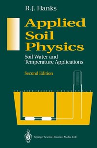 Applied Soil Physics