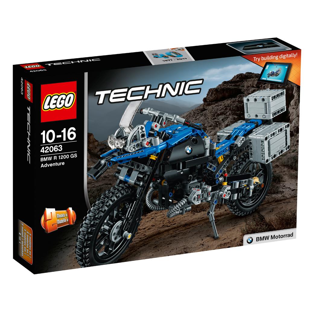 LEGO Technic 42063 - BMW R1200GS Adventure - zum Schließen ins Bild klicken