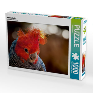 Helmkakadu 1000 Teile Puzzle quer