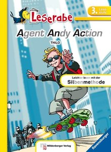 Leserabe - Agent Andy Action. Lesestufe 3, Band 3