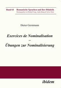 Exercices de nominalisation