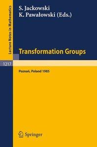 Transformation Groups Poznan 1985
