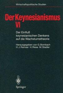 Der Keynesianismus VI