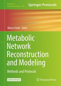 Metabolic Network Reconstruction and Modeling