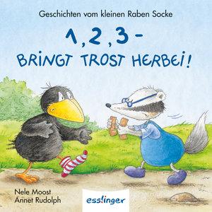Der kleine Rabe Socke: 1,2,3 - Bringt Trost herbei! - Mini-Ausga