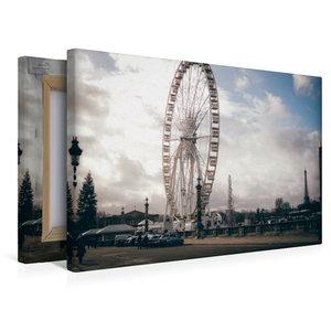 Premium Textil-Leinwand 45 cm x 30 cm quer Place de la Concorde