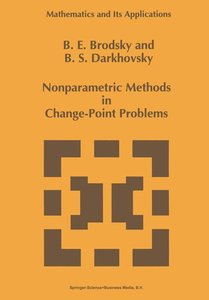 Nonparametric Methods in Change Point Problems