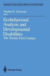 Ecobehavioral Analysis and Developmental Disabilities