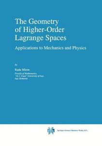 The Geometry of Higher-Order Lagrange Spaces