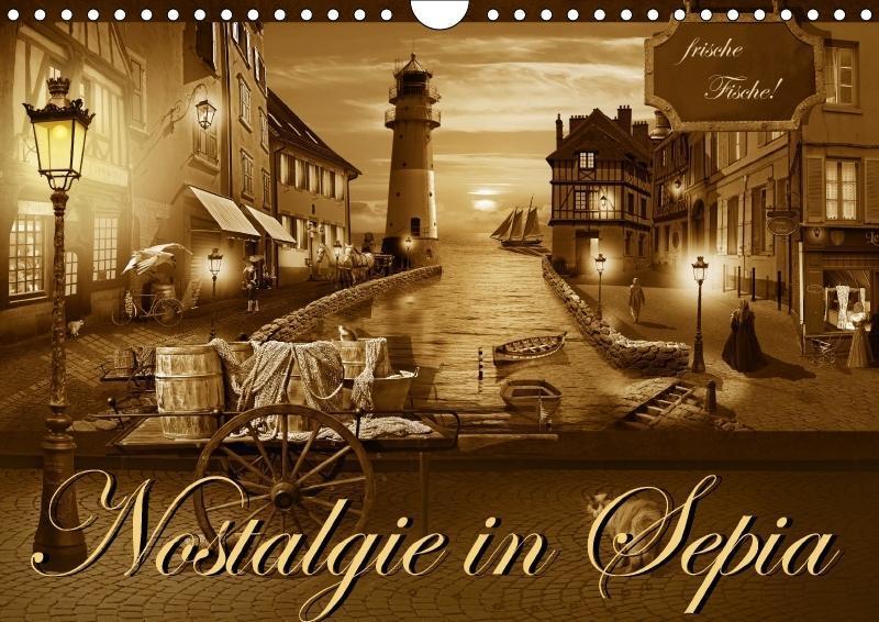 Nostalgie in Sepia - zum Schließen ins Bild klicken