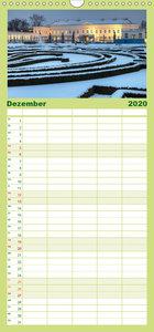 Die Gärten in Herrenhausen - Familienplaner hoch (Wandkalender 2
