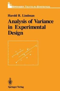 Analysis of Variance in Experimental Design