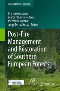Post-Fire Management and Restoration of Southern European Forest