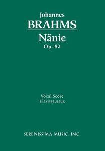 Nanie, Op. 82 - Vocal Score
