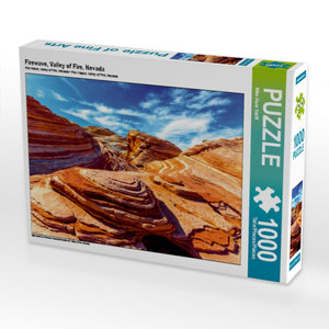 Firewave, Valley of Fire, Nevada 1000 Teile Puzzle quer
