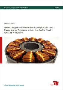 Motor design for maximum material exploitation and magnetization