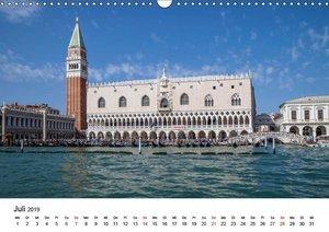 Die Attraktionen von Venedig (Wandkalender 2019 DIN A3 quer)