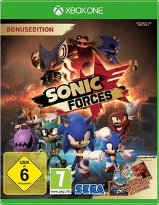 Sonic Forces, 1 Xbox One-Blu-ray (Day One Edition)