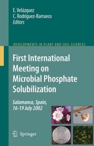 First International Meeting on Microbial Phosphate Solubilizatio