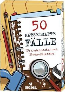 50 rätselhafte Fälle für Codeknacker und Junior-Detektive