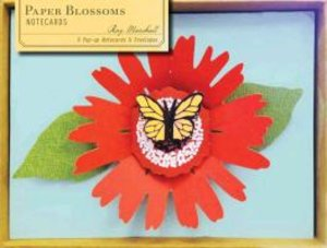 Paper Blossoms Pop-Up Notecards