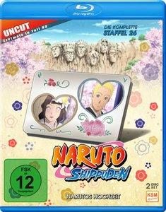 Naruto Shippuden - Narutos Hochzeit. Staffel.26, 2 Blu-ray