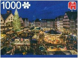 Weihnachtsmarkt in Frankfurt, Deutschland - 1000 Teile Puzzle