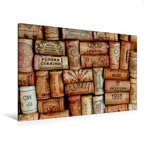 Premium Textil-Leinwand 120 cm x 80 cm quer Erinnerung an genuss