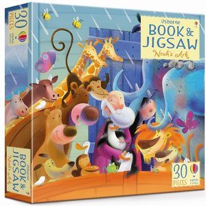 Noah\'s Ark, jigsaw, w. picture book
