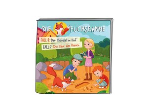 01-0144 Tonie-Die Fuchsbande - Der Skandal im Hof / Die Spur des