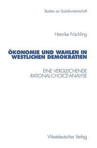 Demokratie und Wahlen in westlichen Demokratien