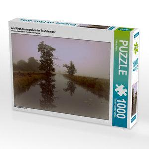 Am Kirchdammgraben im Teufelsmoor 1000 Teile Puzzle quer