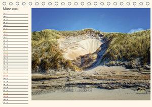 Nordsee-Dünen - Geburtstagskalender
