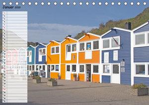 Helgoland - idyllische Nordseeinsel (Tischkalender 2019 DIN A5 q