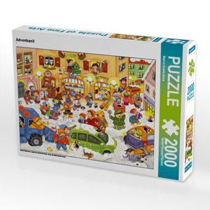 Adventszeit 2000 Teile Puzzle quer