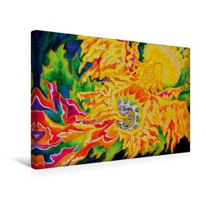 Premium Textil-Leinwand 45 cm x 30 cm quer Friede sei mit euch
