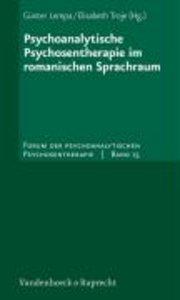 Psychoanalytische Psychosentherapie im romanischen Sprachraum