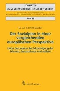 Der Sozialplan in einer vergleichenden europäischen Perspektive