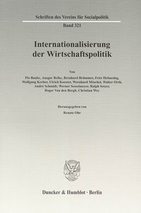 Internationalisierung der Wirtschaftspolitik