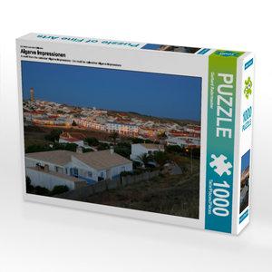 CALVENDO Puzzle Algarve Impressionen 1000 Teile Lege-Größe 64 x