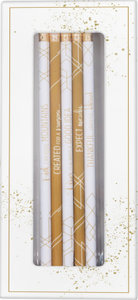 "Bleistift-Set ""Grace & Hope\"""
