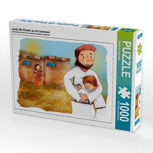 Lasst alle Kinder zu mir kommen 1000 Teile Puzzle quer
