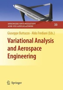 Variational Analysis and Aerospace Engineering