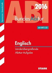 BundesAbitur Englisch Länderübergreifende Aufgaben